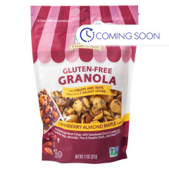 BAKERY ON MAIN GLUTEN FREE GRANOLA CRANBERRY ALMOND MAPLE 11 OZ POUCH