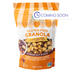 BAKERY ON MAIN GLUTEN FREE GRANOLA EXTREME NUT & FRUIT 11 OZ POUCH