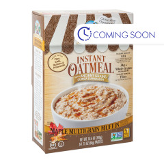 BAKERY ON MAIN GLUTEN FREE MAPLE MUFFIN INSTANT OATMEAL 10.5 OZ BOX