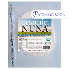 ORGANIC NUNA - OVEN RST CHK BREAST PRE - SLCED - 6OZ