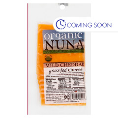 ORGANIC NUNA - MILD CHEDDAR CHEESE PRE - SLICED - 5OZ