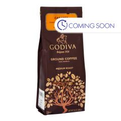 GODIVA - GROUND COFFEE - CARAMEL - 10OZ