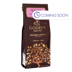 GODIVA - GROUND COFFEE - CHOCOLATE TRUFFLE - 10OZ
