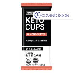 EATING EVOLVED - KETO CUPS - ALMND(2CT) - 1.4OZ