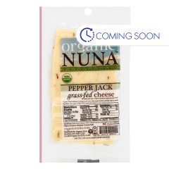 ORGANIC NUNA - PEPPER JACK CHEESE PRE - SLICED - 5OZ