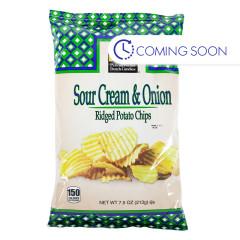 PDC - CHIPS - SOUR CREAM & ONION - 7.5OZ