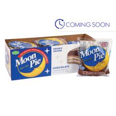 MOON PIE - DOUBLE DECKER - CHOCOLATE - 2.75OZ