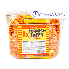 BONOMO - TURKISH TAFFY - TWISTS - BANANA