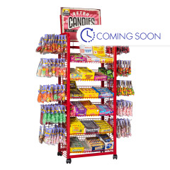 PDC NOSTALGIC CANDY DISPLAY