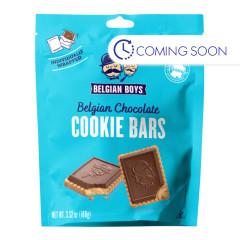 BELGIAN BOYS - CHOCOLATE COOKIE BARS - 3.52OZ