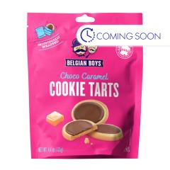 BELGIAN BOYS - CHOCOLATE CARAMEL COOKIE TART - 4.4OZ