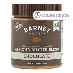 BARNEY BUTTER - CHOCOLATE ALMOND BUTTER - 10OZ