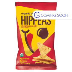 HIPPEAS - ORG - CHKPEA TORTLA CHIP - SEA SALT - 5OZ