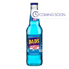DADS BLUE CREAM SODA 12 OZ BOTTLE