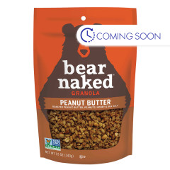 BEAR NAKED PEANUT BUTTER GRANOLA 12 OZ PEG BAG