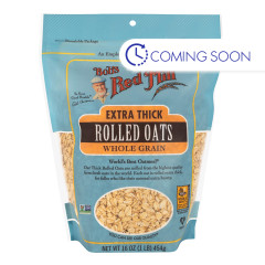BOB'S RED - EXTRA THICK ROLLED OATS - 16OZ