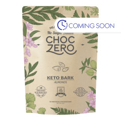CHOCZERO KETO BARK MILK CHOCOLATE ALMOND 6 OZ POUCH