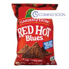 GARDEN OF EATIN' RED HOT BLUE CHIPS 8.1 OZ BAG