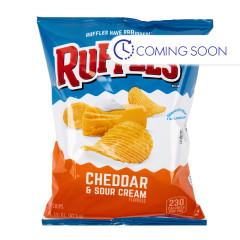 RUFFLES CHEDDAR SOUR CREAM CHIPS 2 OZ BAG