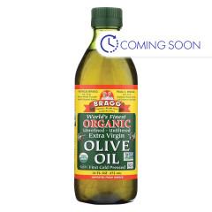 BRAGG ORGANIC EXTRA VIRGIN OLIVE OIL 16 OZ BOTTLE