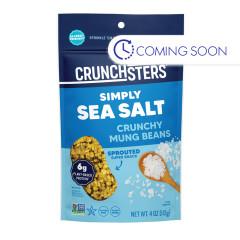 CRUNCHSTERS SEA SALT 4 OZ POUCH