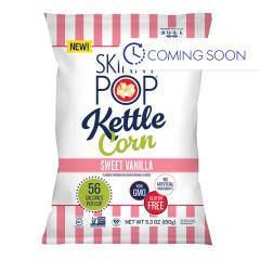 SKINNY POP SWEET VANILLA KETTLE CORN 5.3 OZ BAG