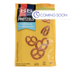 B&B TRADITIONAL PRETZELS 10.6 OZ POUCH
