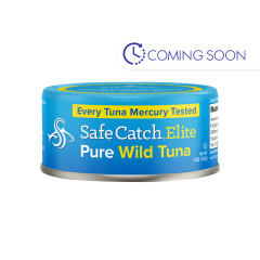 SAFE CATCH ELITE WILD TUNA 5 OZ CAN