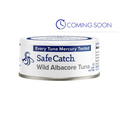 SAFE CATCH WILD ALBACORE TUNA 5 OZ CAN