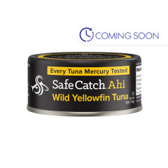 SAFE CATCH AHI SOLID WILD YELLOWFIN TUNA 5 OZ CAN