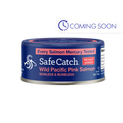 SAFE CATCH WILD PINK SALMON 5 OZ CAN
