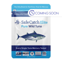 SAFE CATCH ELITE WILD TUNA 3 OZ POUCH