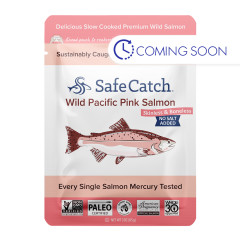 SAFE CATCH WILD PINK SALMON 3 OZ POUCH