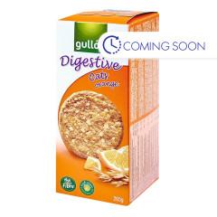 GULLON DIGESTIVE OATS & ORANGE 15 OZ BOX
