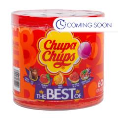 CHUPA CHUPS ASSORTED THE BEST OF  0.423 OZ TUB