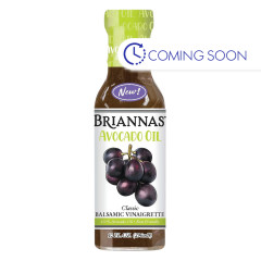 BRIANNAS - BALSAMIC VINAIGR W/AVOCADO OIL - 10OZ