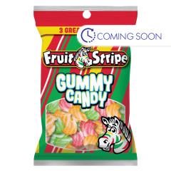 FRUIT STRIPE GUMMY CANDY PEG BAG