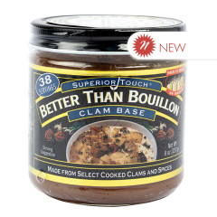 BETTER THAN BOUILLON CLAM 8 OZ JAR