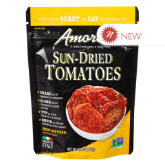 AMORE SUN DRIED TOMATOES 4.4 OZ POUCH