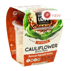 KITCHEN & LOVE READY TO EAT CAULIFLOWER MOROCCAN VEGETABLE HARISSA 7.9 OZ