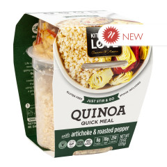 KITCHEN & LOVE READY TO EAT QUINOA ARTICHOKE & ROASTED PEPPERS 7.9 OZ