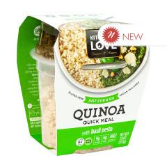 KITCHEN & LOVE READY TO EAT QUINOA BASIL PESTO 7.9 OZ