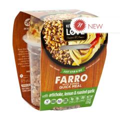 KITCHEN & LOVE READY TO EAT FARRO ARTICHOKE LEMON GARLIC 7.9 OZ