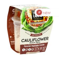 KITCHEN & LOVE READY TO EAT CAULIFLOWER PERUVIAN VEGETABLE CEVICHE 7.9 OZ