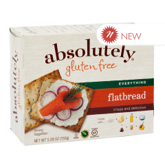 ABSOLUTELY GLUTEN FREE EVERYTHING FLATBREAD 5.29 OZ BOX