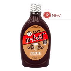 FOX'S U-BET COFFEE SYRUP 20 OZ