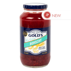 GOLD'S LOW CALORIE BORSCHT 24 OZ JAR