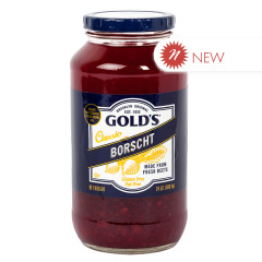 GOLD'S BORSCHT 24 OZ JAR
