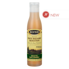 ALESSI WHITE BALSAMIC VINEGAR REDUCTION 8.5 OZ BOTTLE