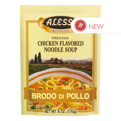 ALESSI CHICKEN NOODLE SOUP 6 OZ